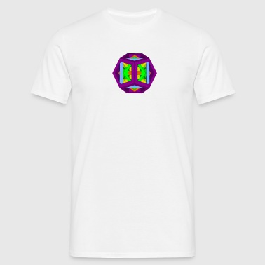PLATONIC SOLIDS geommatrix - Men's T-Shirt
