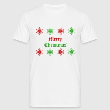 Merry Christmas   - Männer T-Shirt