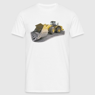 chantier engin - T-shirt Homme