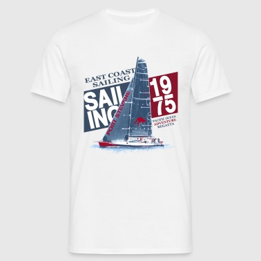 East Coast Sailing  - Men's T-Shirt