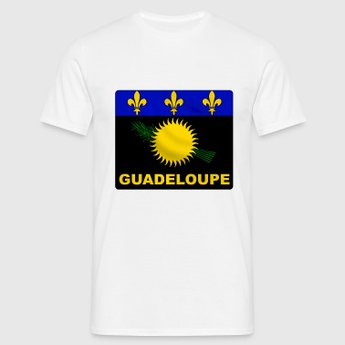guadeloupe flag - T-shirt Homme