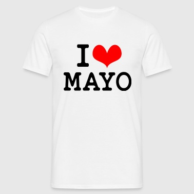 I Love Mayo - Men's T-Shirt