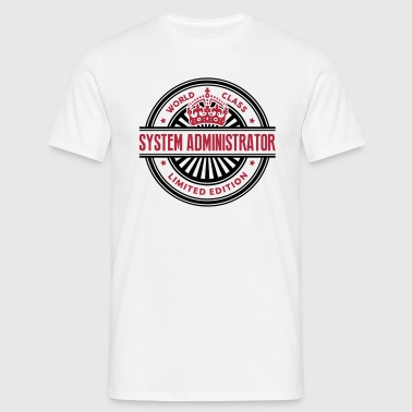 World class system administrator limited - Men's T-Shirt
