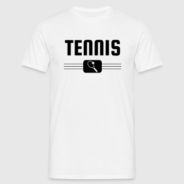 Tennis - Sport - Racket - Tennis Player - Tenis - T-shirt Homme