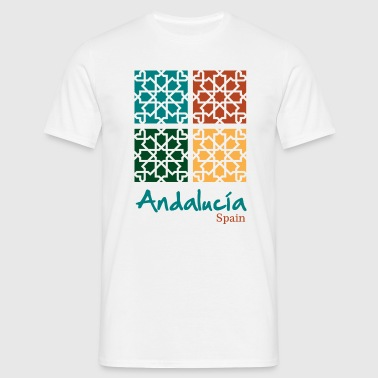 Andalusian Tiles 5 - T-shirt Homme