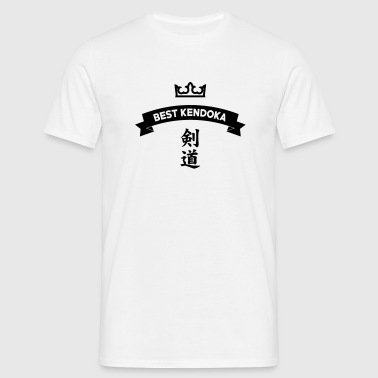 Kendo / Kendoka / Martial Arts / Samurai - Men's T-Shirt