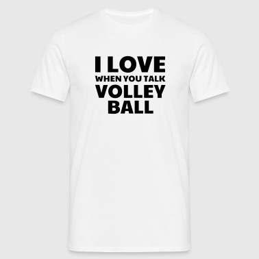 Volleyball - Volley Ball - Volley-Ball - Sport - Maglietta da uomo