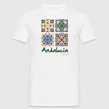 Andalusian Tiles 3 - T-shirt Homme