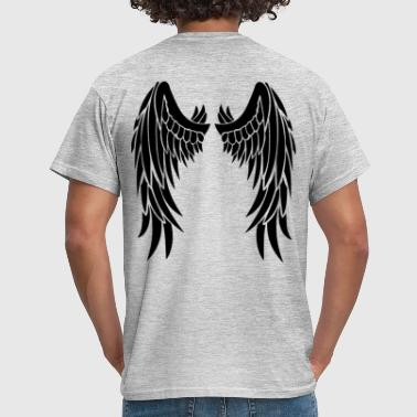 Wings In Back - T-shirt Homme