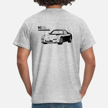 Touge FD Savanna - Mannen T-shirt