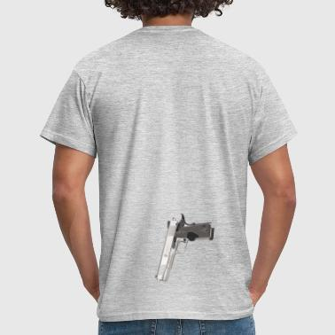 Gangster Smith & Wesson de calibre 9mm conception  - T-shirt Homme