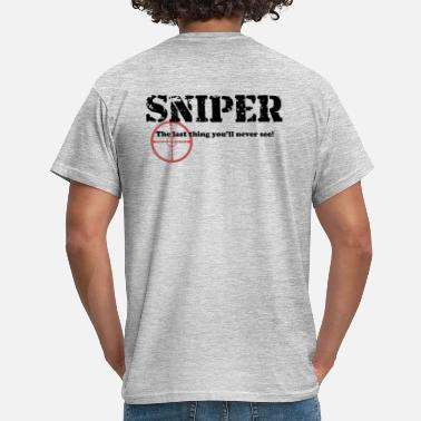 Swat Sniper 1 - Men's T-Shirt