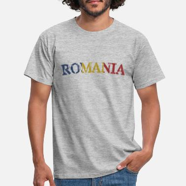 Romania Romania Romania flag - Men's T-Shirt