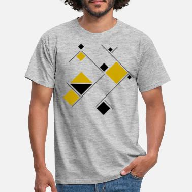 Geometric Geometric - Men's T-Shirt