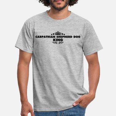 Carpathian carpathian shepherd dog king 2015 - Men's T-Shirt