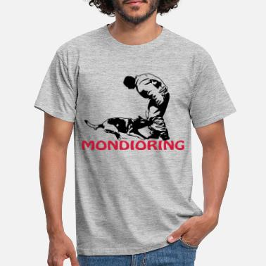 Scalable Mondioring, bicolor - Men's T-Shirt