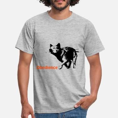 Obedience Obedience Cattledog - Men's T-Shirt