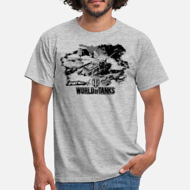 World Of Tanks World of Tanks - Battlefield black - Men's T-Shirt