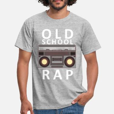 Cassette Old School Rap cassette radio vintage - Men's T-Shirt