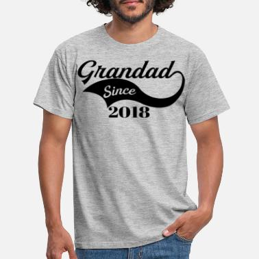 2018 Grandad Since 2018 - Men's T-Shirt