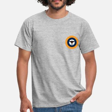 Royal Air Force Spitfire on the Royal Air Force roundel. - Men's T-Shirt