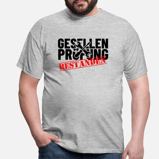 Geschenk zur bestandenen Gesellenprüfung Männer T-Shirt | Spreadshirt