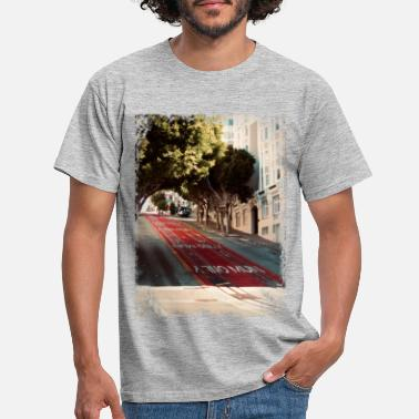 West Coast A t-shirt from the street of San Francisco - Men's T-Shirt