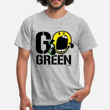 Fridays For Future SmileyWorld Go Green - T-shirt Homme