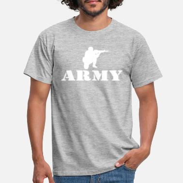 Army Fiancee Army Soldier - Men's T-Shirt