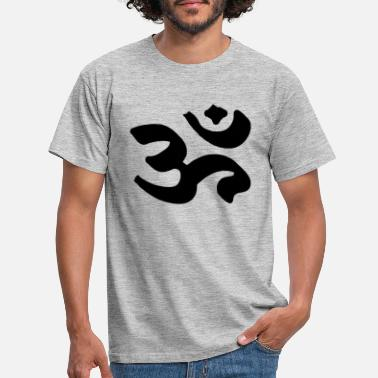 Shiva Om YOGA Meditation Power Spiritual Symbol India - Maglietta uomo