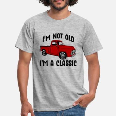 Old 56 I'M NOT OLD IM A CLASSIC - Men's T-Shirt