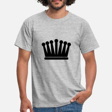 Isolated crown - Men's T-Shirt