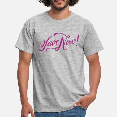 One Night Stand 2 save now pink - Men's T-Shirt