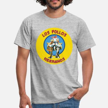 Bad Breaking Bad Los Pollos Hermanos - Männer T-Shirt