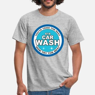Bad Breaking Bad Car Wash Waschanlage Logo - Männer T-Shirt