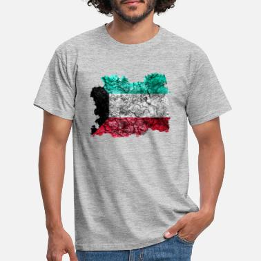 Kuwait Kuwait vintage flag - Men's T-Shirt