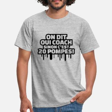 Oui MUSCULATION - T-shirt Homme