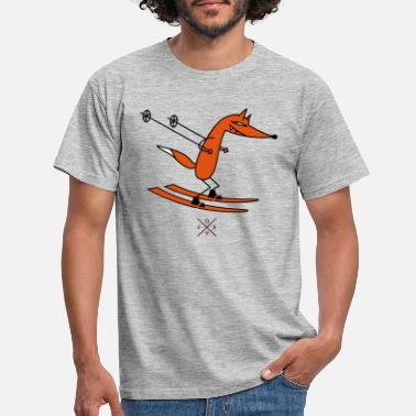 Winter smart ski driver - Men's T-Shirt