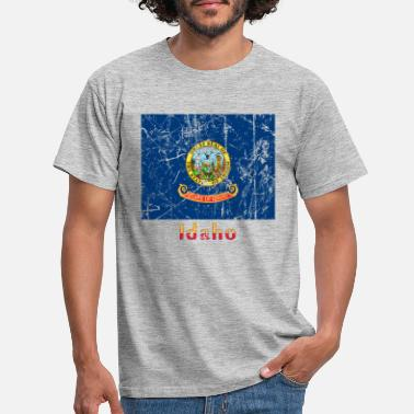 Federal State Idaho USA United States of America American State - Men's T-Shirt