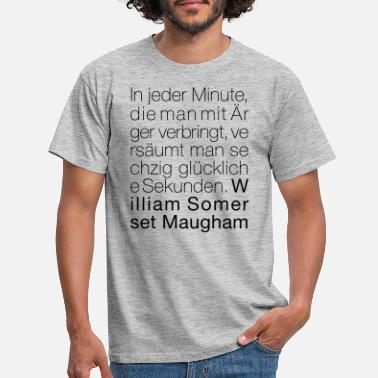 Somerset William Somerset Maugham - Männer T-Shirt