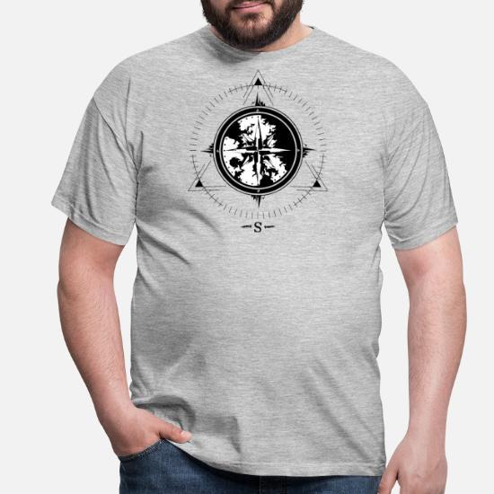 Compass Anchor  Sailor Shirt