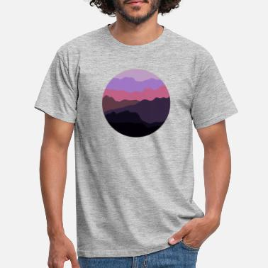 Sunset Creative outlook - Men's T-Shirt
