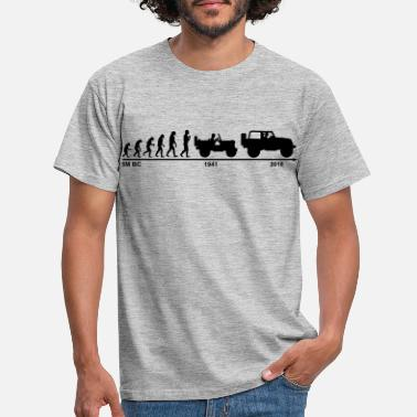Jeep jeep evolution - Männer T-Shirt
