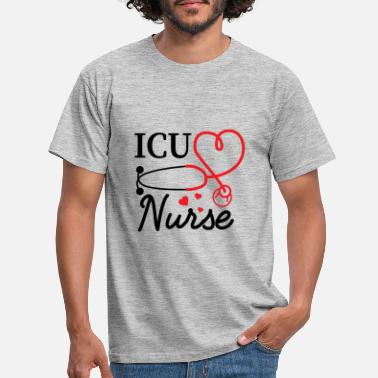 Ambulance ICU Nurse Emergency Ambulance Hospital Nursing - Mannen T-shirt