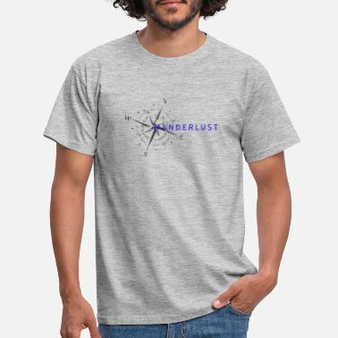 wanderlust3 - Men's T-Shirt