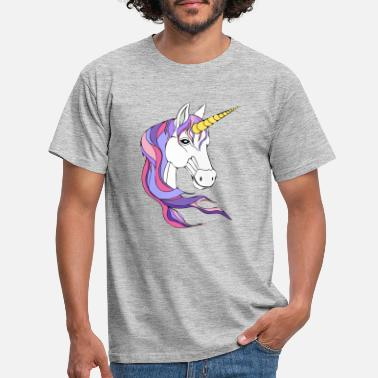 Pink Unicorn - Men's T-Shirt
