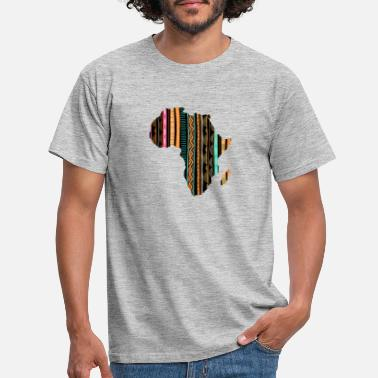 Map Africa Map Patterns Traditional - Men's T-Shirt