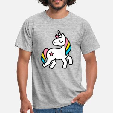 For Kids unicorn - Men's T-Shirt