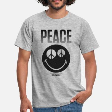 Emoji SmileyWorld Peace Friedliche Emotion - Männer T-Shirt