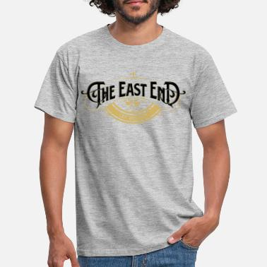 East Sussex The East End - Mannen T-shirt